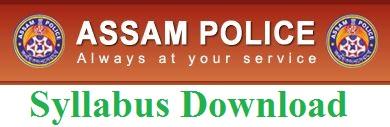 Assam Police Syllabus