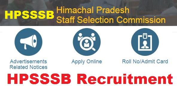 HPSSSB Recruitment