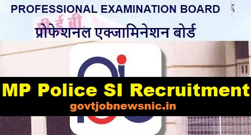 MP Police SI Recruitment