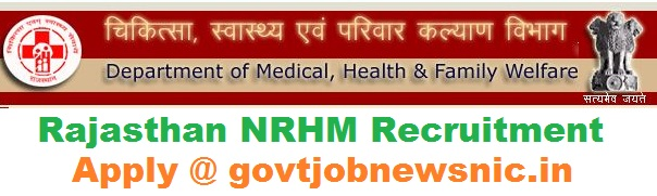 Rajasthan NRHM Recruitment