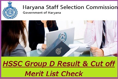 HSSC Group D Result 2018-19