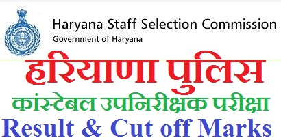 Haryana Police SI Cut off