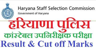 Haryana Police SI Result