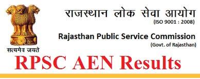 RPSC AEN Result