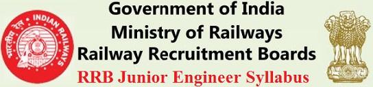 RRB Junior Engineer Syllabus 2021