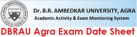 Agra university Exam Date Sheet 2020