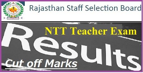 RSMSSB NTT Teacher Result