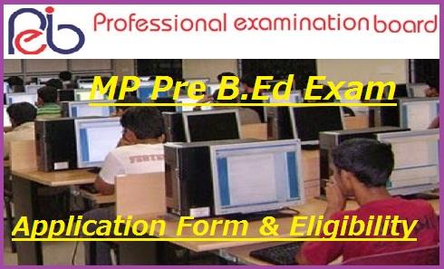 MP Pre B.Ed Entrance Exam 2021