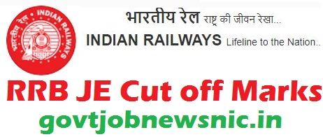 RRB JE Cut off Marks 2019