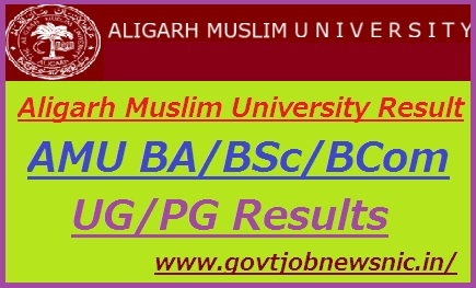 Aligarh Muslim University Result 2020