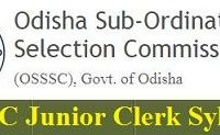OSSSC Junior Clerk Syllabus 2019