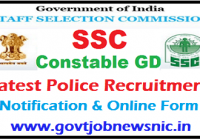 SSC Constable GD Recruitment2021