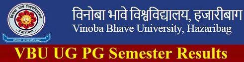 Vinoba Bhave University Result 2019