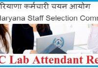 HSSC Lab Attendant Result 2021