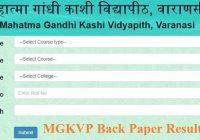 MGKVP Back Paper Result 2020