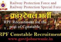 RPF Constable Bharti 2020