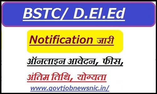 Rajasthan BSTC Eligibility Criteria 2021