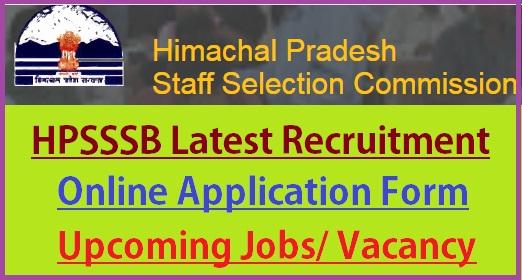 HPSSSB Recruitment 2021