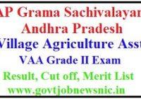 APGS Village Agriculture Assistant Result 2019