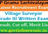 APGS Village Surveyor Result 2019