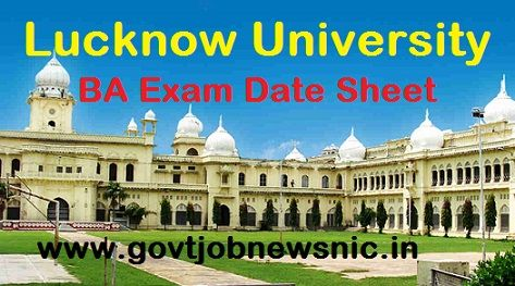 Lucknow University BA Scheme 2021