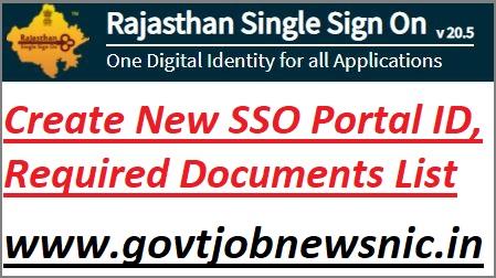 Create New SSO ID Kaise Banaye