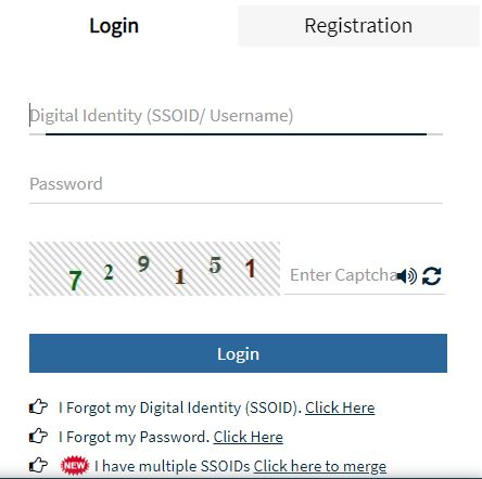SSO Login Page